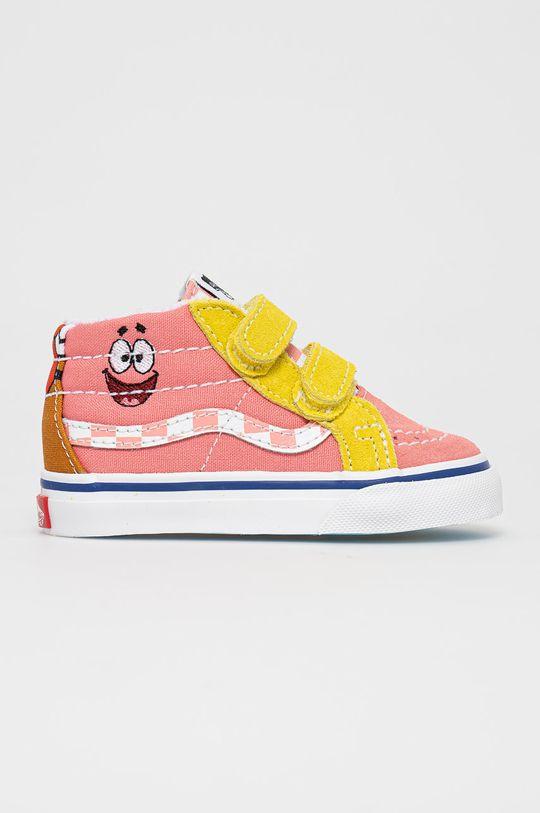 růžová Vans - Dětské tenisky x Spongebob Dívčí