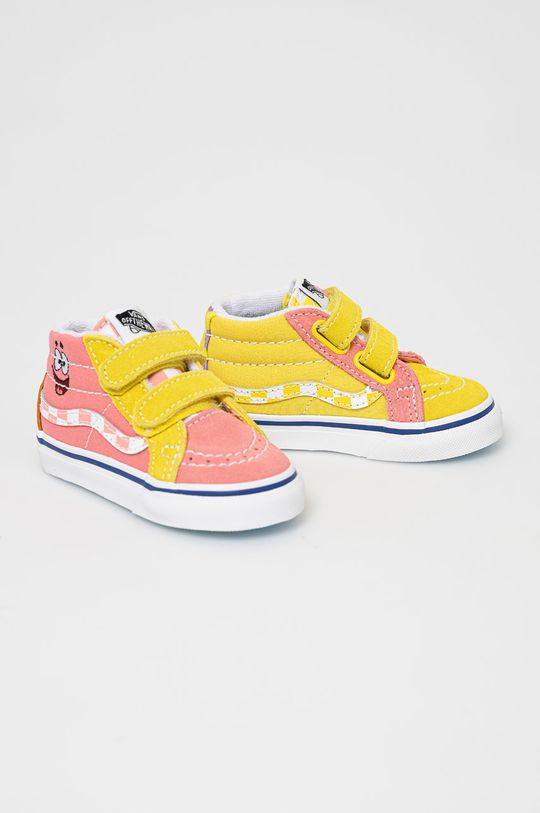Vans - Dětské tenisky x Spongebob růžová