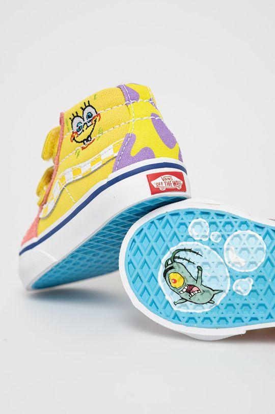 Vans - Dětské tenisky x Spongebob  Svršek: Textilní materiál, Semišová kůže Vnitřek: Textilní materiál Podrážka: Umělá hmota