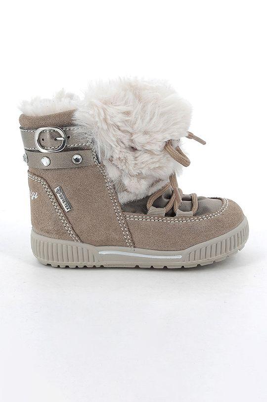 beżowy Primigi - Śniegowce dziecięce Dziewczęcy
