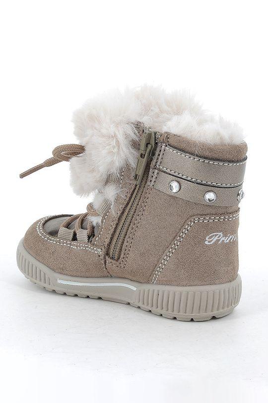 Primigi - Śniegowce dziecięce Cholewka: Materiał tekstylny, Skóra naturalna, Wnętrze: Materiał tekstylny, Podeszwa: Materiał syntetyczny