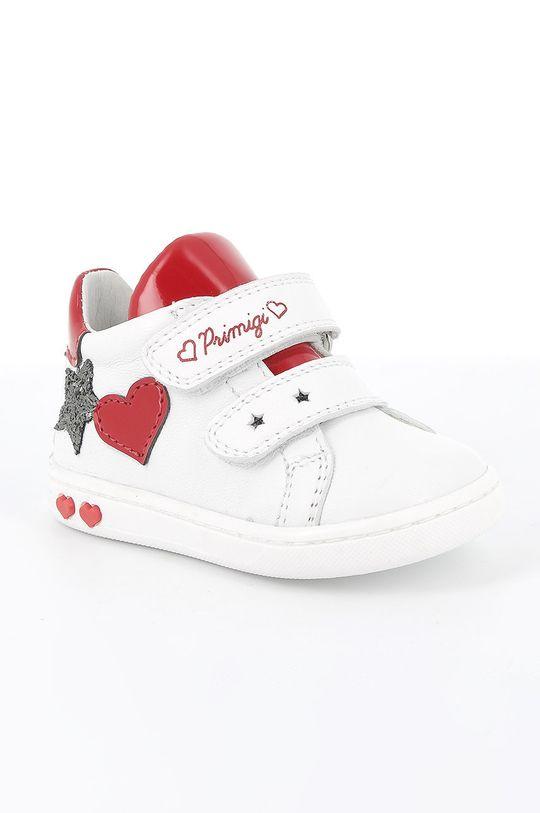 Primigi - Buty skórzane dziecięce biały