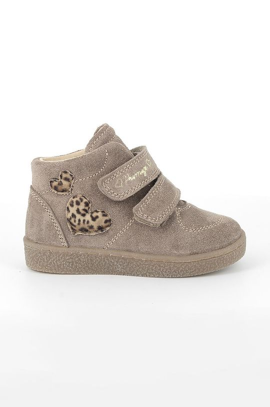maro Primigi - Pantofi din piele intoarsa pentru copii De fete