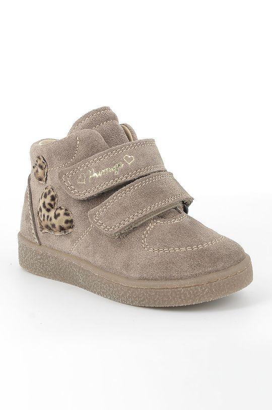 Primigi - Pantofi din piele intoarsa pentru copii maro