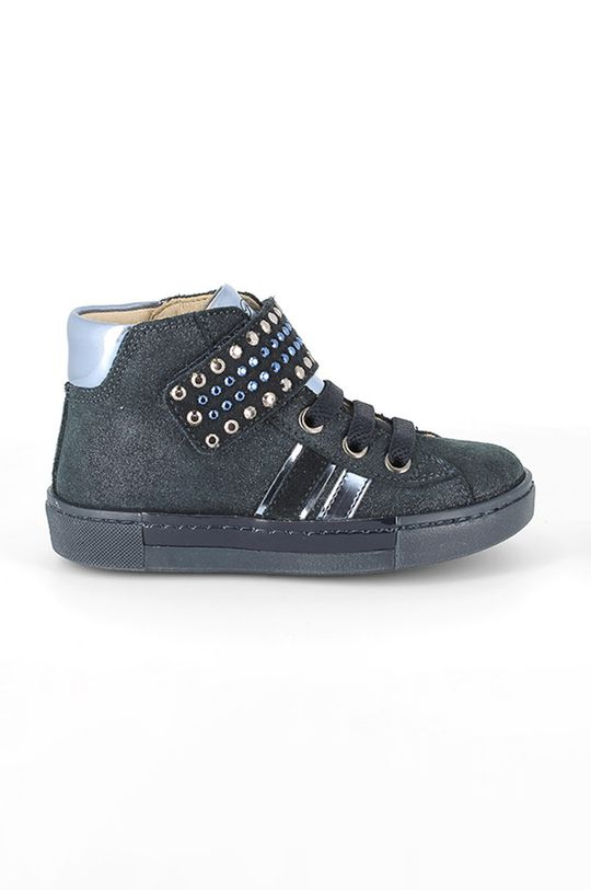 bleumarin Primigi - Pantofi din piele intoarsa pentru copii De fete