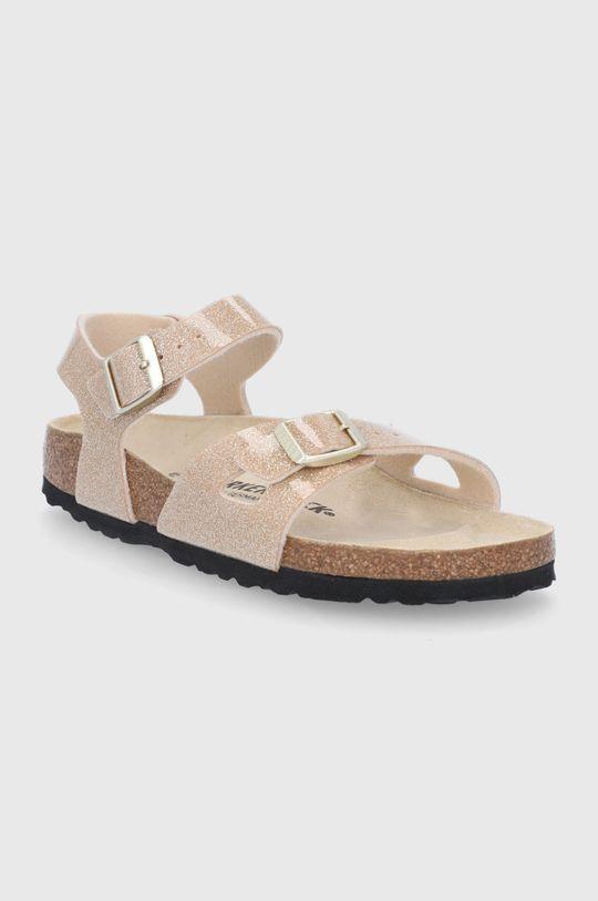Birkenstock - Dětské sandály Rio zlatá