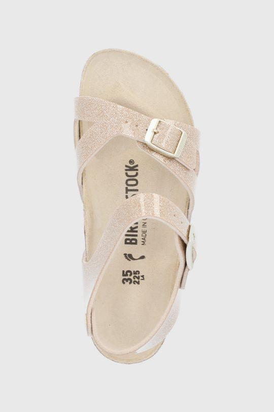 zlatá Birkenstock - Dětské sandály Rio