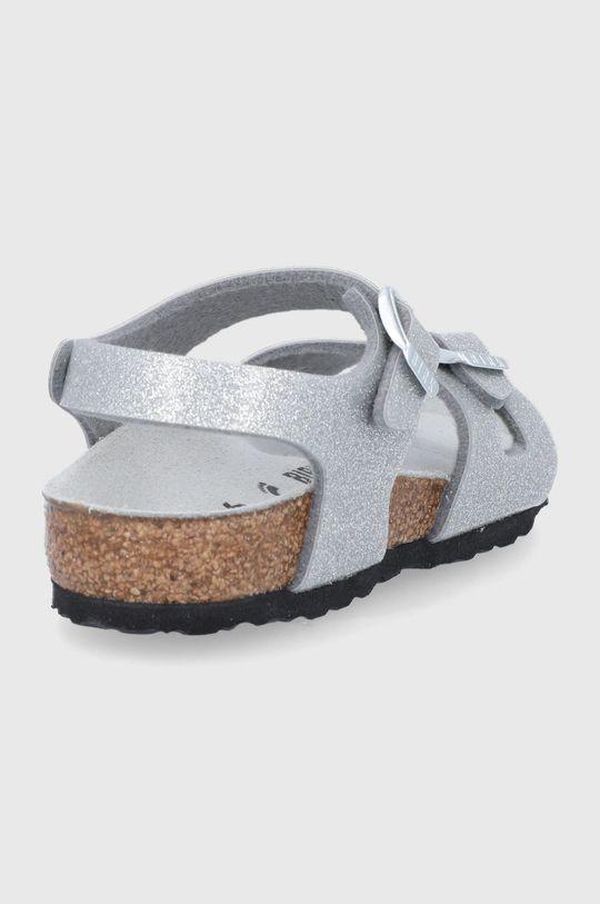 Birkenstock - Sandály Rio  Svršek: Umělá hmota Vnitřek: Přírodní kůže Podrážka: Umělá hmota