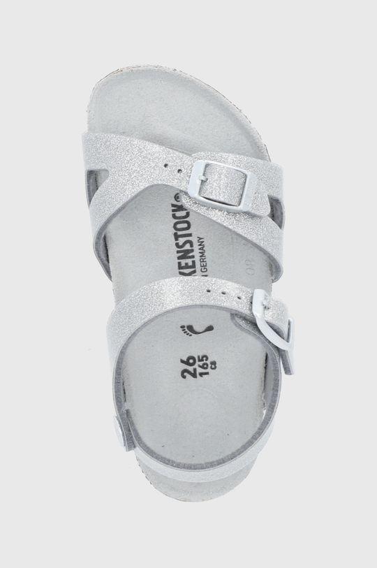 stříbrná Birkenstock - Sandály Rio