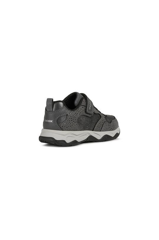 šedá Geox - Dětské boty