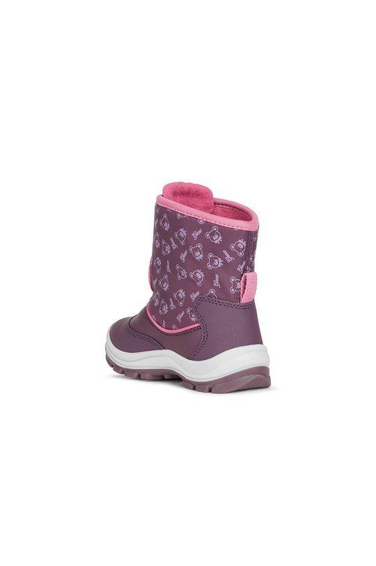Geox - Cizme de iarna copii  Gamba: Material sintetic, Material textil Interiorul: Material textil Talpa: Material sintetic