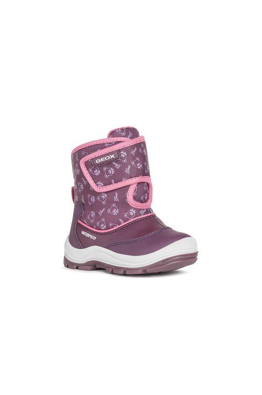 Geox - Detské snehule fialová