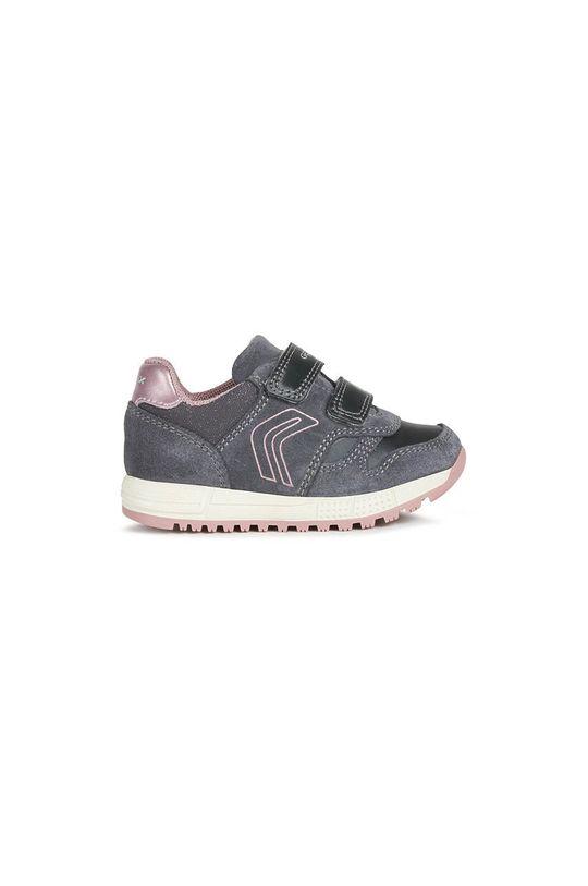 sivá Geox - Detské topánky Dievčenský