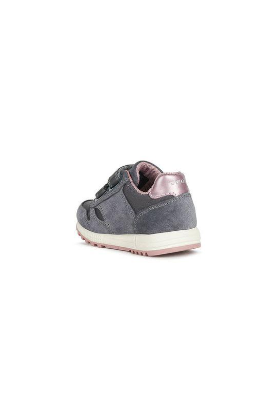 Geox - Detské topánky  Zvršok: Textil, Prírodná koža, Semišová koža Vnútro: Textil Podrážka: Syntetická látka