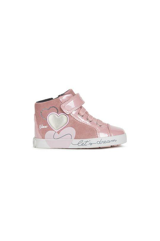 roz murdar Geox - Pantofi copii De fete