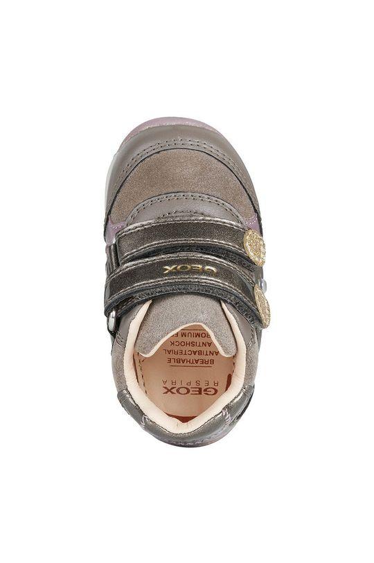 Geox - Παιδικά δερμάτινα παπούτσια Για κορίτσια