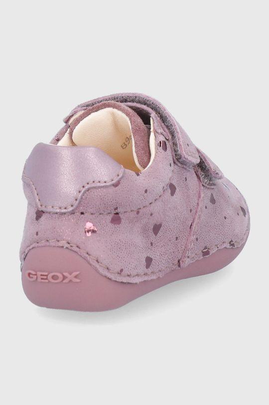 Geox - Detské kožené poltopánky  Zvršok: Prírodná koža Vnútro: Prírodná koža Podrážka: Syntetická látka