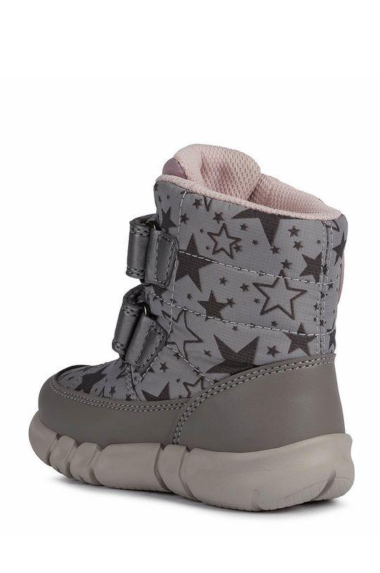 Geox - Śniegowce dziecięce Cholewka: Materiał syntetyczny, Materiał tekstylny, Wnętrze: Materiał tekstylny, Podeszwa: Materiał syntetyczny