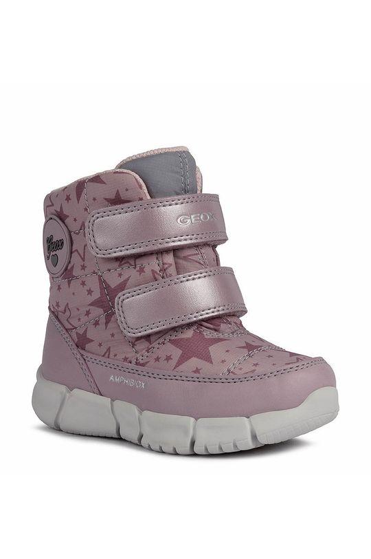 Geox - Παιδικές μπότες χιονιού ροζ