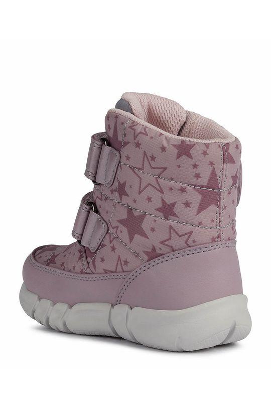 Geox - Παιδικές μπότες χιονιού  Πάνω μέρος: Συνθετικό ύφασμα Εσωτερικό: Υφαντικό υλικό Σόλα: Συνθετικό ύφασμα
