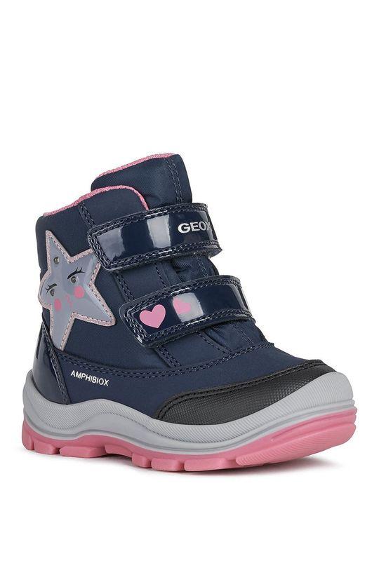 Geox - Śniegowce dziecięce granatowy
