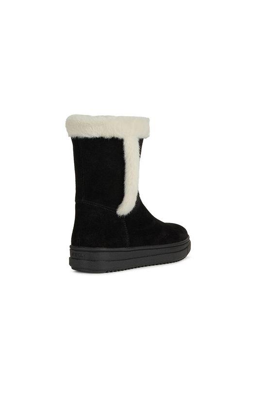 negru Geox - Pantofi din piele intoarsa pentru copii
