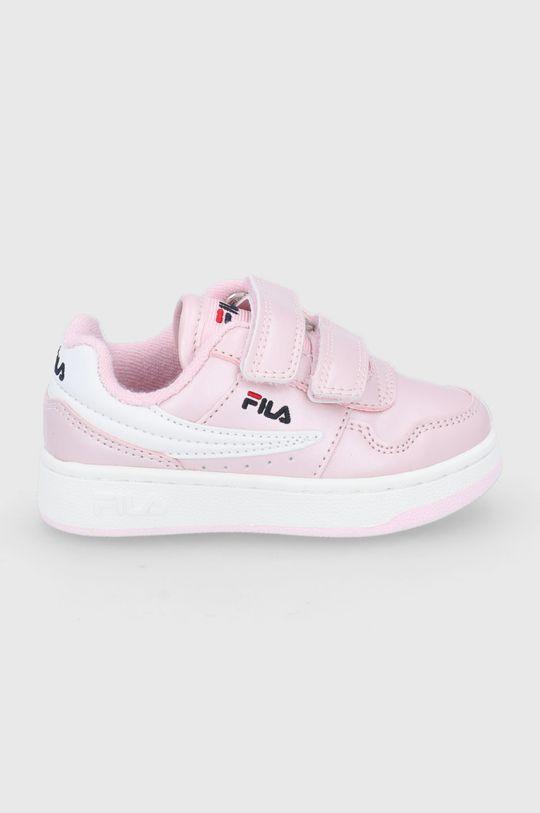 różowy Fila - Buty dziecięce Arcade Velcro Infants Dziewczęcy