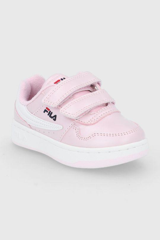 Fila - Buty dziecięce Arcade Velcro Infants różowy