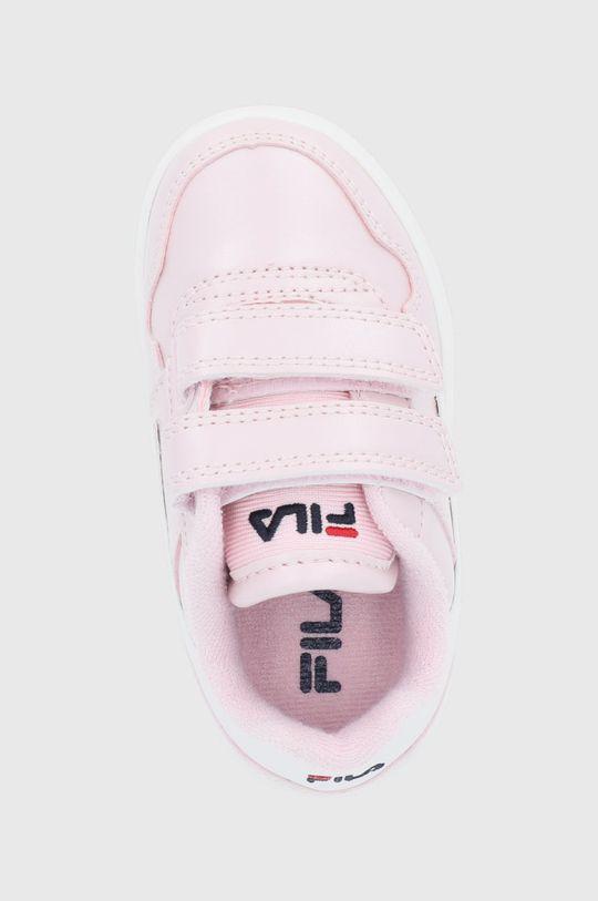 różowy Fila - Buty dziecięce Arcade Velcro Infants