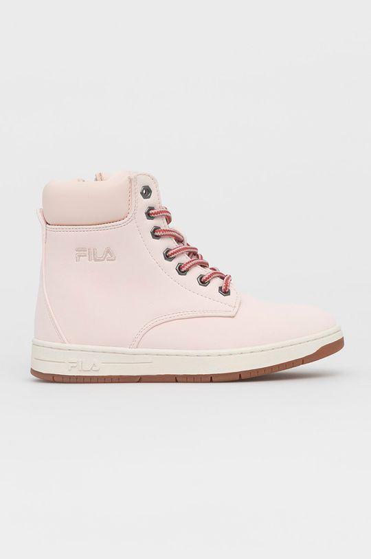 pastelowy różowy Fila - Buty dziecięce Dziewczęcy