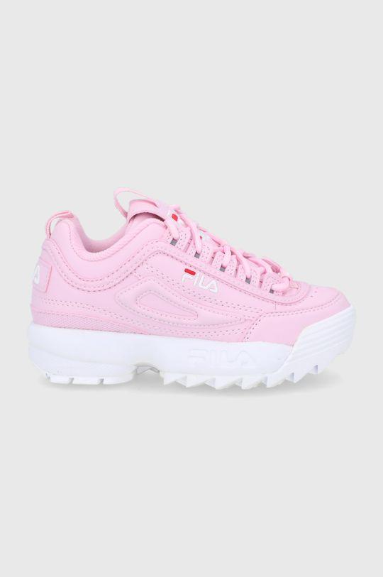 różowy Fila - Buty dziecięce Disruptor Dziewczęcy