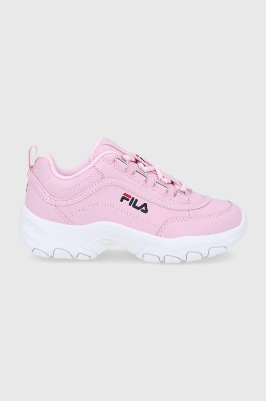 różowy Fila - Buty dziecięce Strada low Dziewczęcy