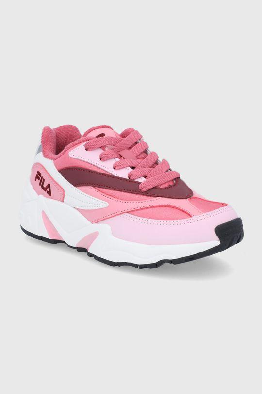 Fila - Buty dziecięce różowy