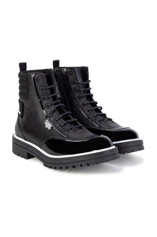 Karl Lagerfeld - Workery dziecięce czarny