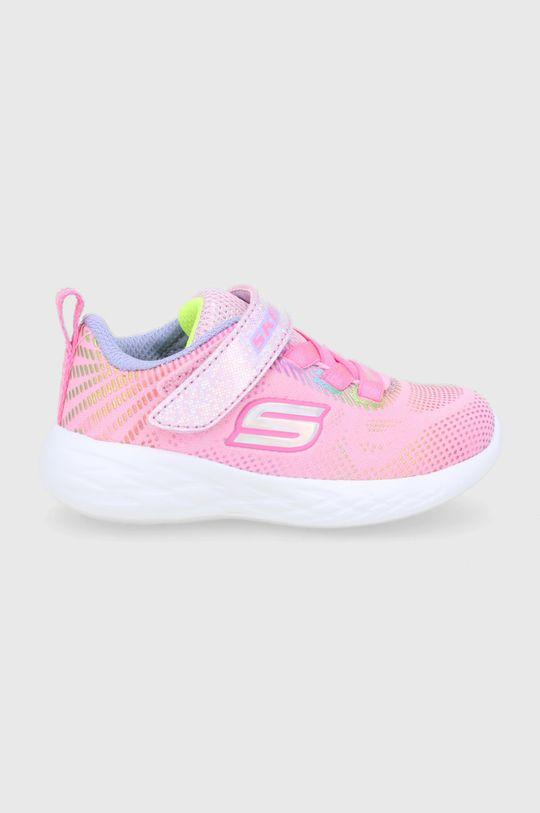 różowy Skechers - Buty dziecięce Dziewczęcy