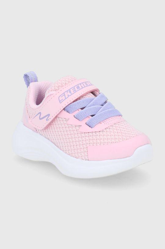 Skechers - Buty dziecięce różowy