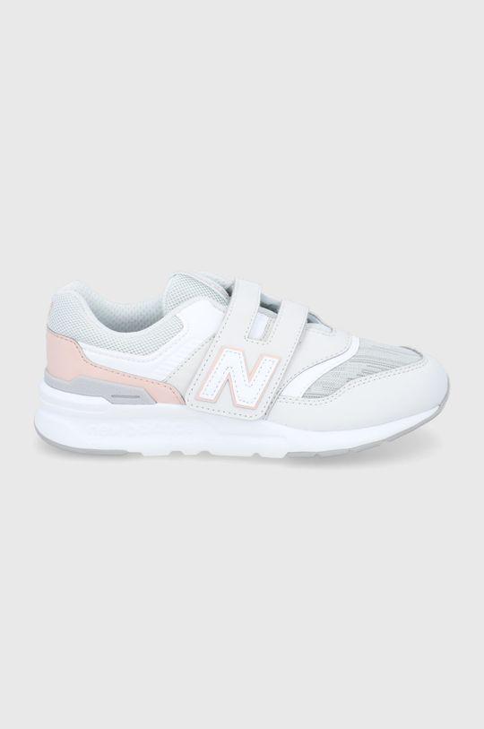 szary New Balance - Buty dziecięce PZ997HMA Dziewczęcy