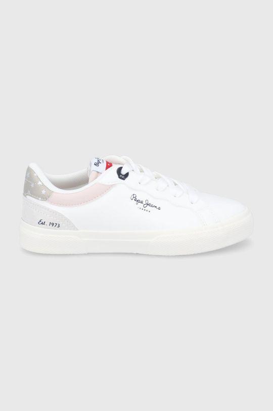 biały Pepe Jeans - Buty dziecięce Kenton Classic Dziewczęcy