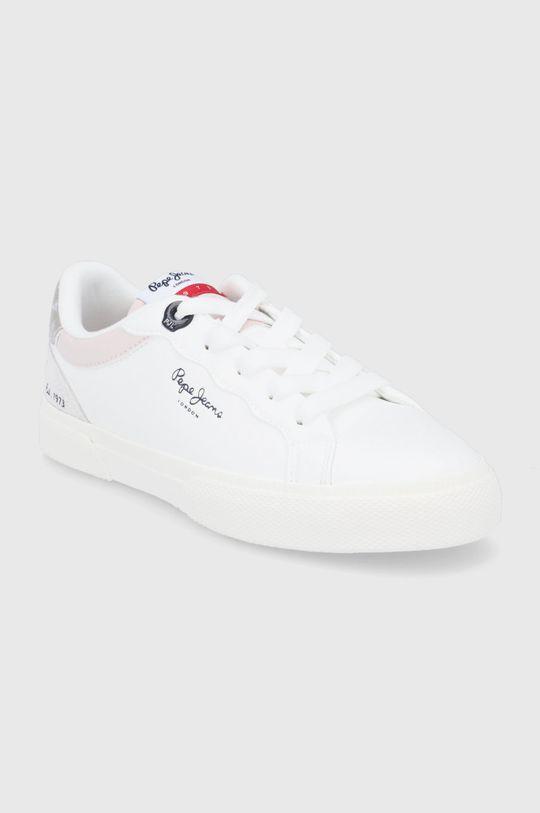 Pepe Jeans - Buty dziecięce Kenton Classic biały