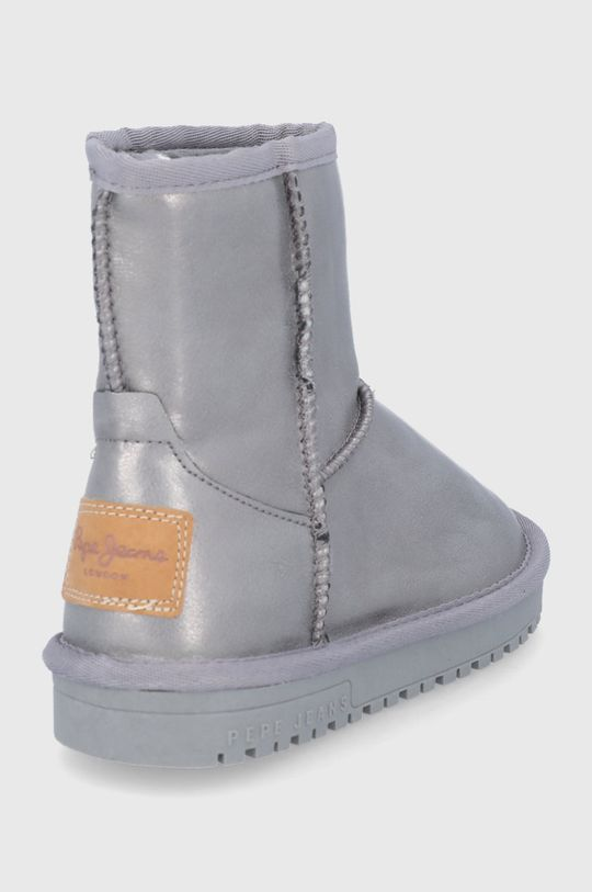 Pepe Jeans - Śniegowce dziecięce Angel Metal Cholewka: Materiał syntetyczny, Wnętrze: Materiał tekstylny, Podeszwa: Materiał syntetyczny