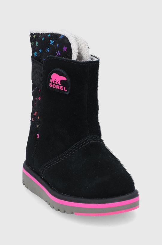 Sorel - Śniegowce dziecięce Rylee czarny