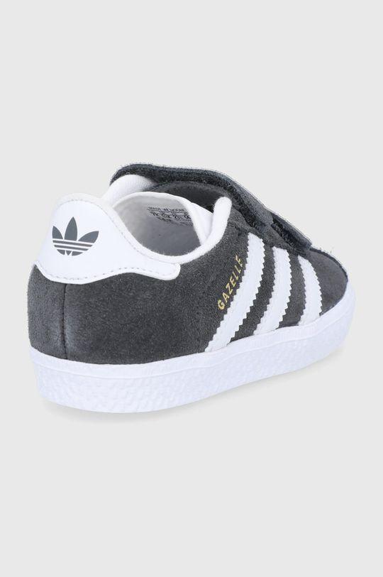 adidas Originals - Dětské semišové boty Gazelle  Svršek: Umělá hmota, Semišová kůže Vnitřek: Textilní materiál Podrážka: Umělá hmota