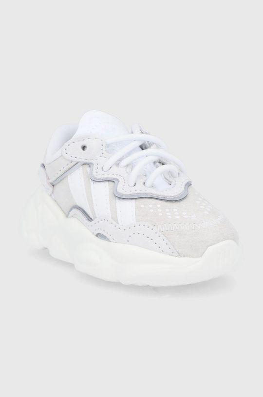 adidas Originals - Buty dziecięce Ozweego El I kremowy