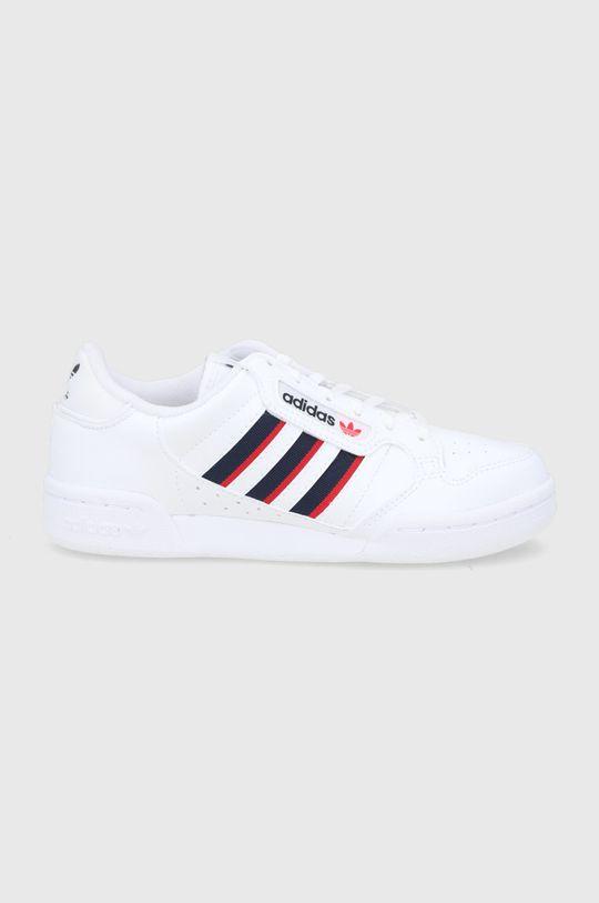bílá adidas Originals - Dětské boty Continental 80 Stripes Dětský