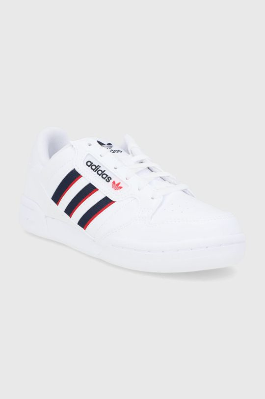 adidas Originals - Dětské boty Continental 80 Stripes bílá