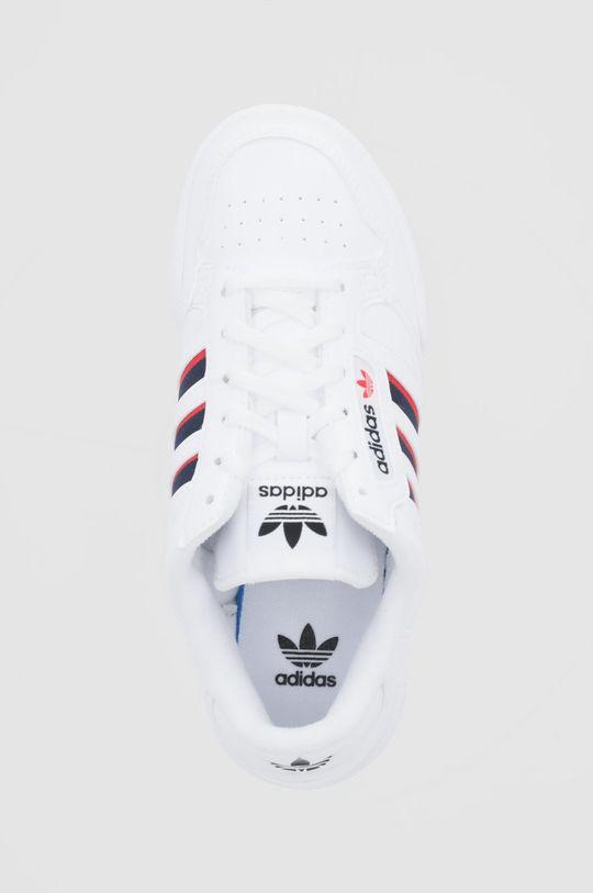 bílá adidas Originals - Dětské boty Continental 80 Stripes