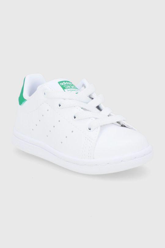 adidas Originals - Buty dziecięce Stan Smith biały