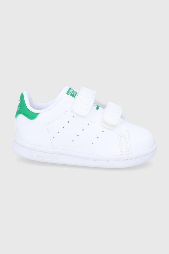 bílá adidas Originals - Dětské boty Stan Smith Dětský