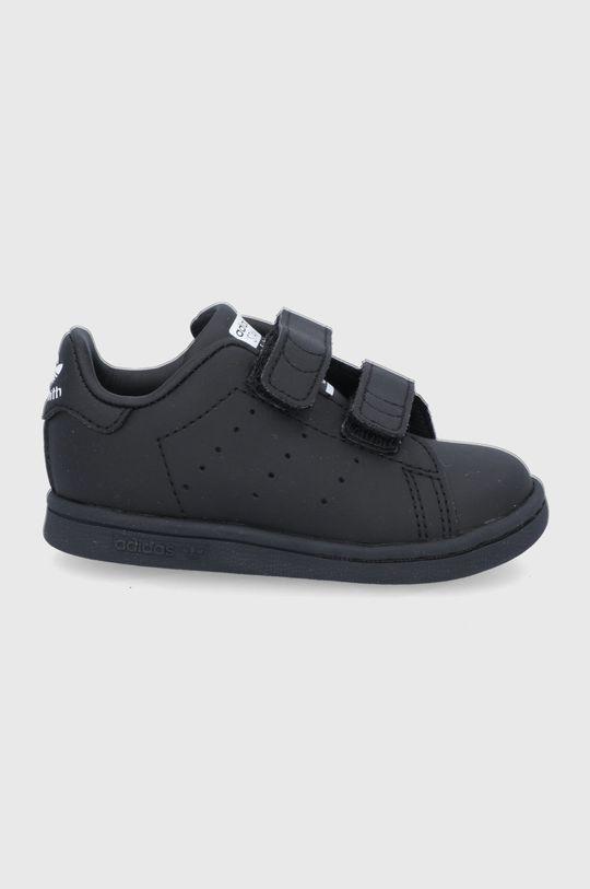 čierna adidas Originals - Detské topánky Detský