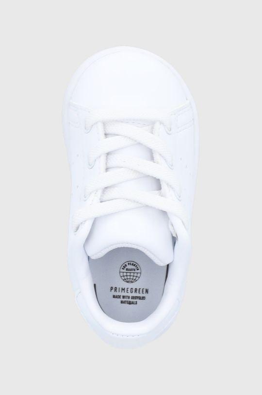 alb adidas Originals - Pantofi copii Stan Smith